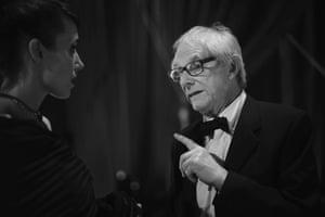Ken Loach, whose I, Daniel Blake won the Outstanding British film award.