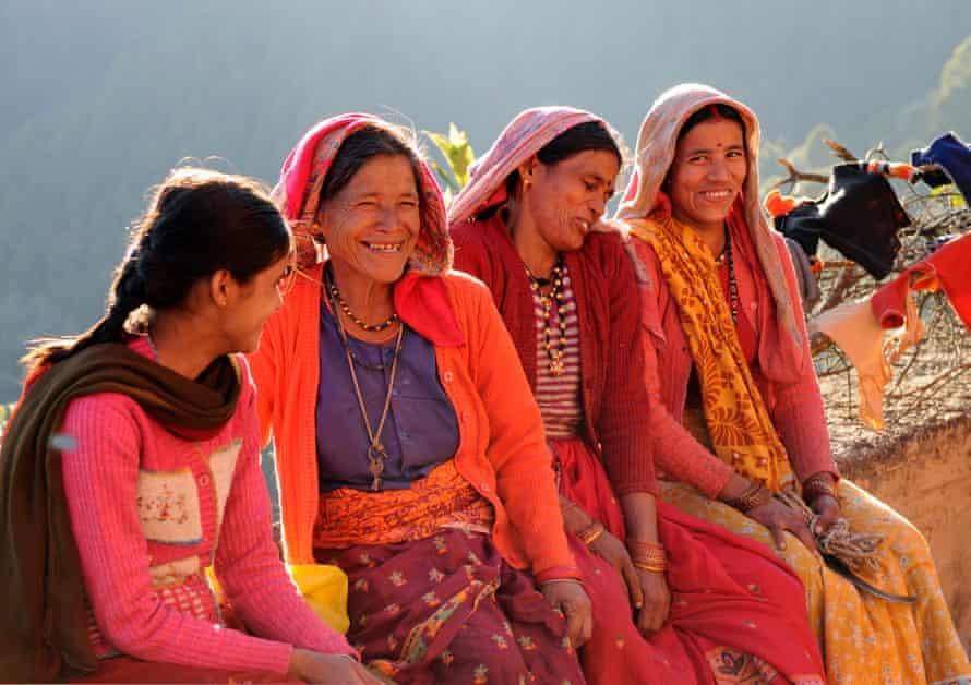 Women in Binsar.