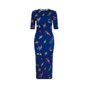 Bug print dress