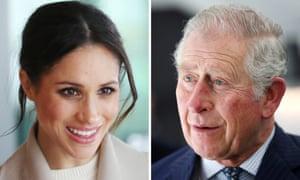 Meghan Markle and Prince Charles.