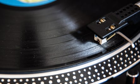Vinyl countdown … Still only a small sector of music sales.