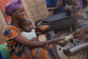 Screening in Mali.
