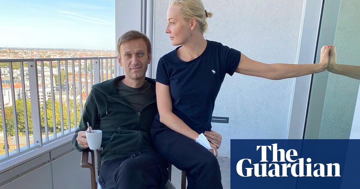 Labs Found Novichok In And On My Body Says Alexei Navalny Alexei Navalny The Guardian