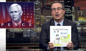 John Oliver announces on 18 March 2018 that he has written a joke book titled Last Week Tonight with John Oliver Presents a Day in the Life of Marlon Bundo to counter the Mike Pence version.