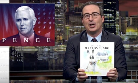 John Oliver's Pence parody about gay rabbit among most-objected books