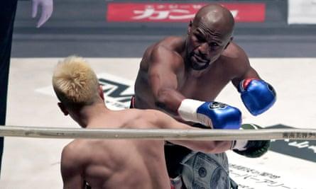 Floyd Mayweather v Tenshin Nasukawa