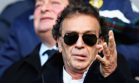 Massimo Cellino, pictured during his time as Leeds United's owner in 2016, said: 'This season doesn't make sense any more.'
