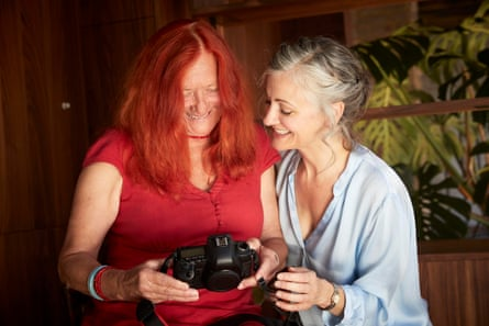 Laura Dodsworth with one of the contributors to the 100 Vaginas project