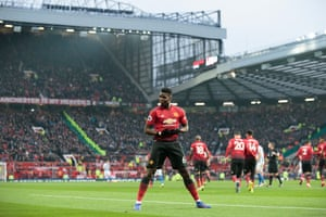 Paul Pogba celebrates after his penalty.