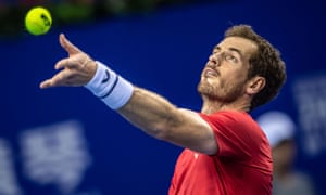 Andy Murray served well during Tuesday's victory