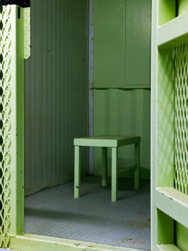 Camp 1, isolation unit, 2009, from the series Guantánamo: If the Light Goes Out.