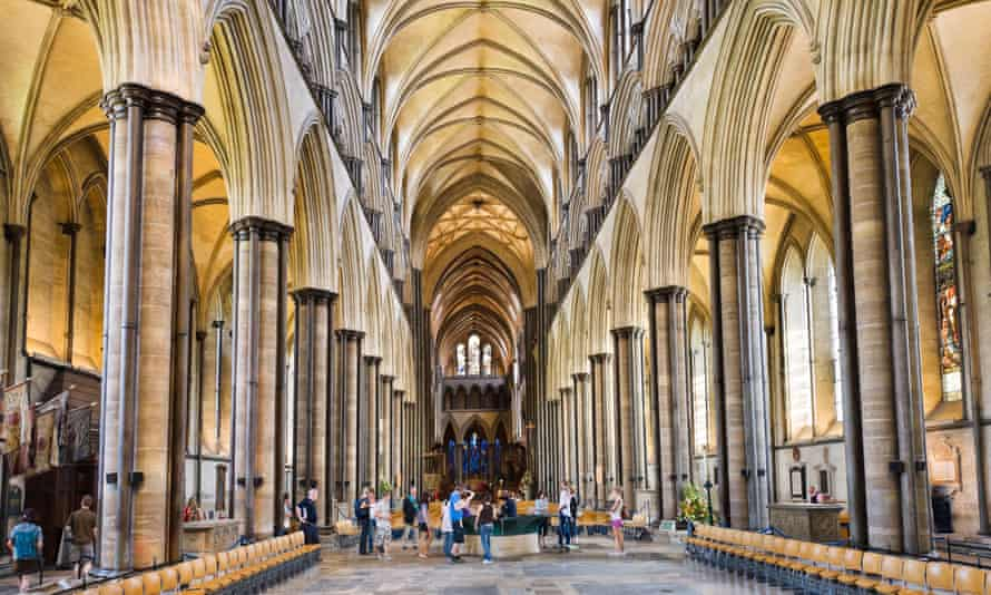 Nave of Salisbury Cathedral