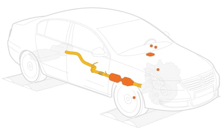 Thousands of drivers suffer loss of power following VW emissions