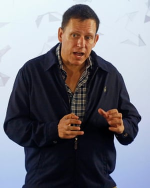 Peter Thiel, the Silicon Valley investor who co-founded PayPal and backed Hogan's case against Gawker.
