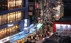 Seoul's bustling Hongdae district
