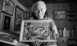 Dan Robbins, the inventor of painting-by-numbers, who has died aged 93.