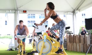 SoulCycle: 'today's ultimate status symbol', said Vogue.
