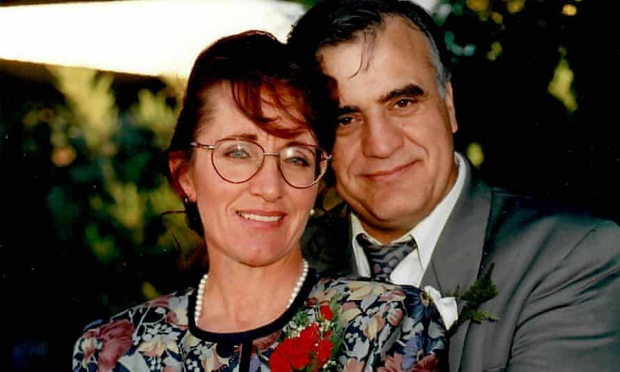 Pic 18A-Nunzio and Maureen Gambale at a wedding, clearly in love-2006