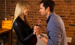 Raw honesty … Joanne Froggat and Tom Riley in Starfish.