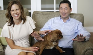 Jason Chaffetz with his wife Julie.