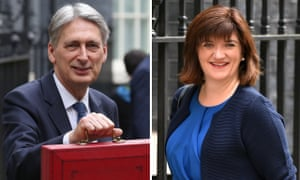 Philip Hammond and Nicky Morgan.