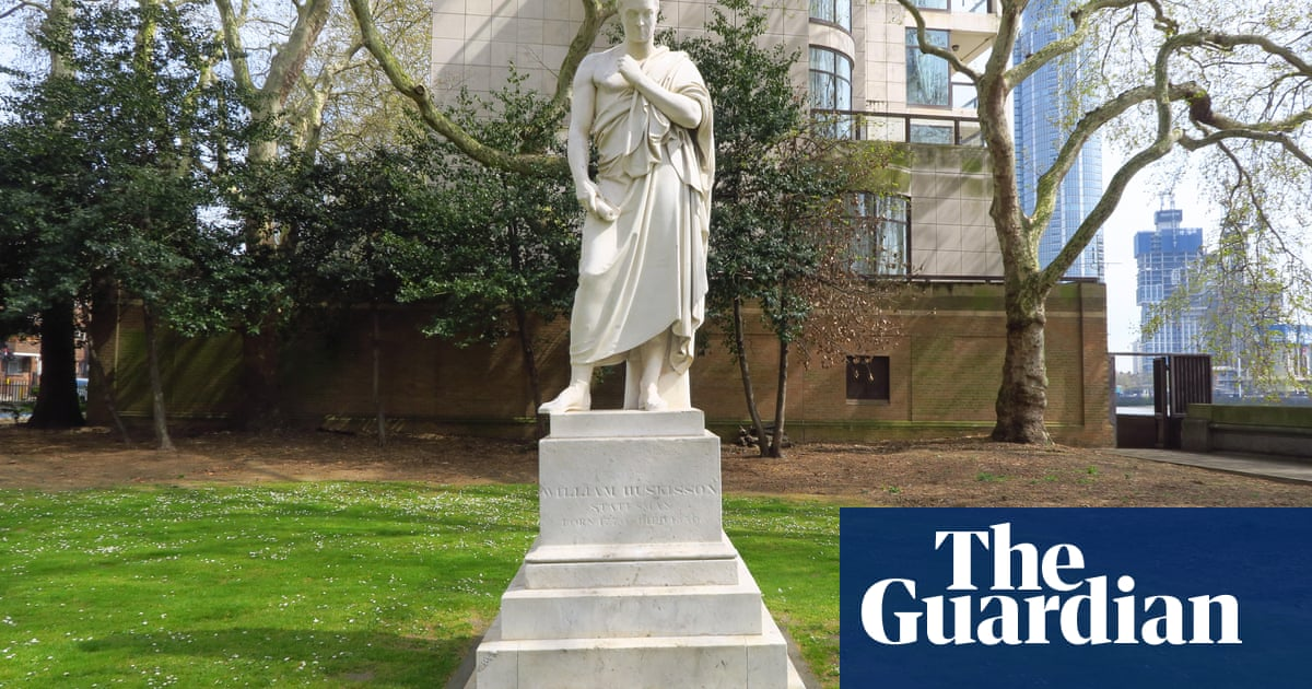 'Huskisson defended slavery': audio work recalls toppling of Liverpool statue in 1982