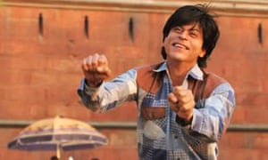 A complex satire of celebrity narcissism? … Shah Rukh Khan in Fan