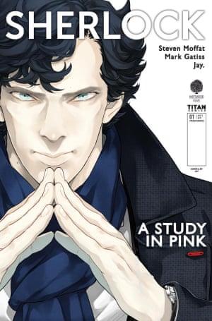 Sherlock: A Study In Pink, Titan Comics.