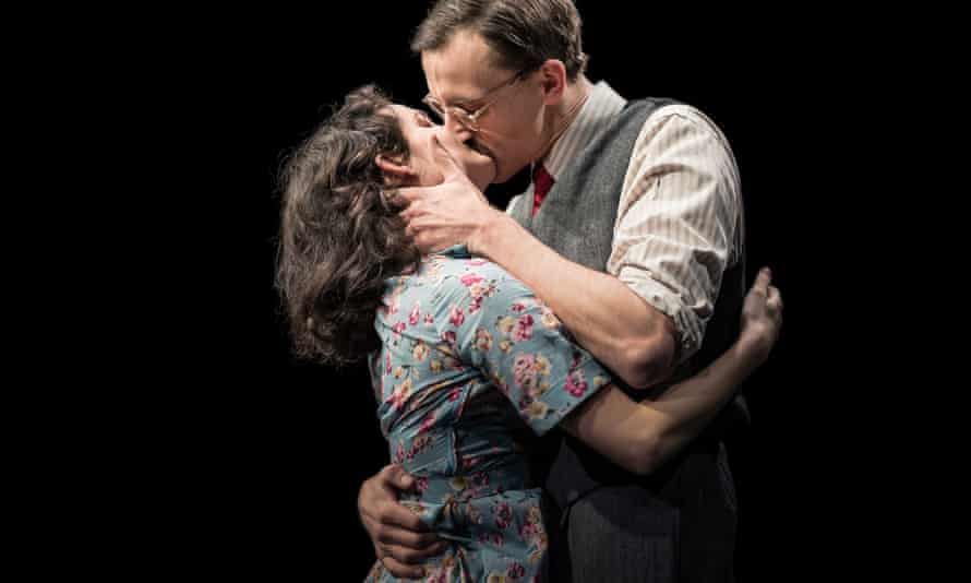 Blinded by self-defined heroism? … Ruby Bentall as Esther Rubenstein and Henry Proffit as Jakob Rubenstein.
