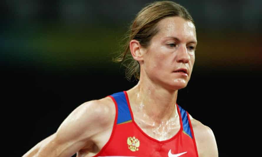 Maria Konovalova, competing in the 10,000m final at the 2008 Olympics, is a two-times Russian champion.
