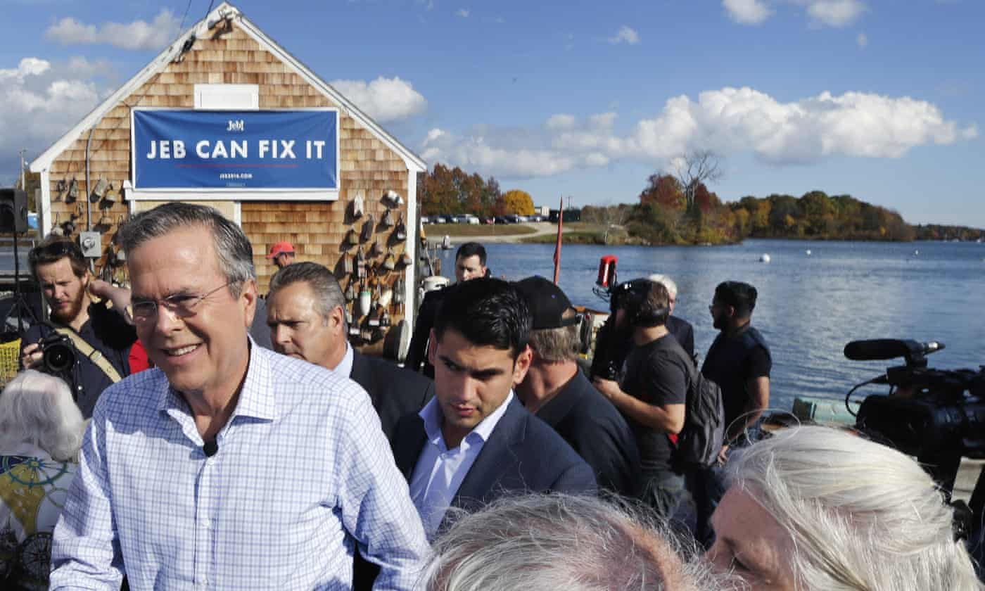 Bush struggles as Clinton shines in dynastic battle for the White House