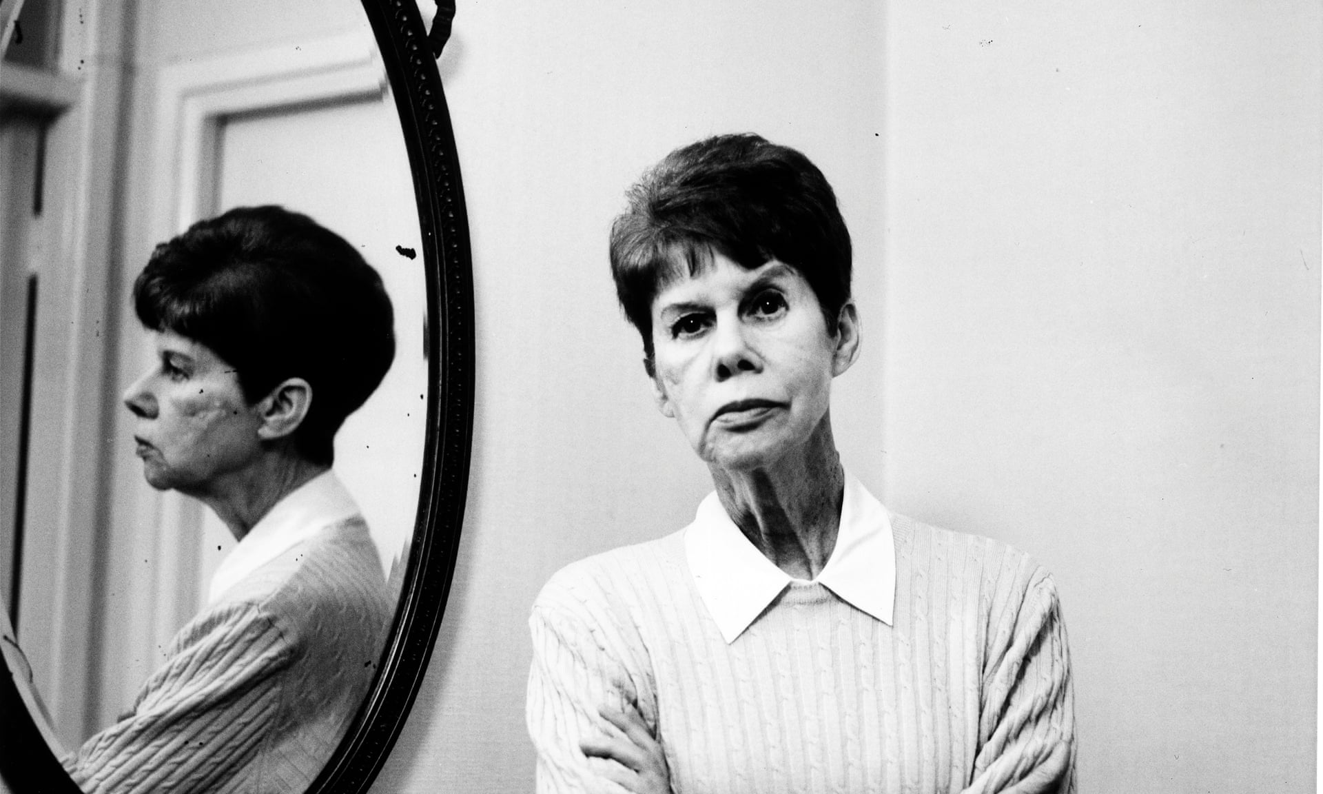 Anita Brookner at home in 2001. Photograph: Karen Robinson for the Observer