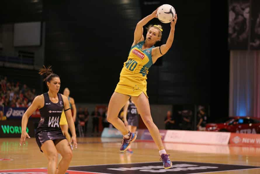 Gabi Simpson made her international bow during the Diamonds' Constellation Cup series with New Zealand in October this year.