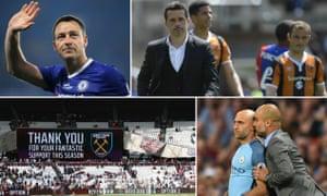 John Terry, Marco Silva, Pep Guardiola and empty seats at West Ham