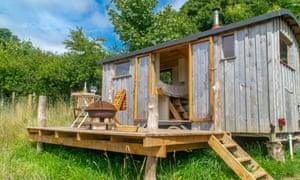 Hutty cabin,in a field in Pembrokeshire