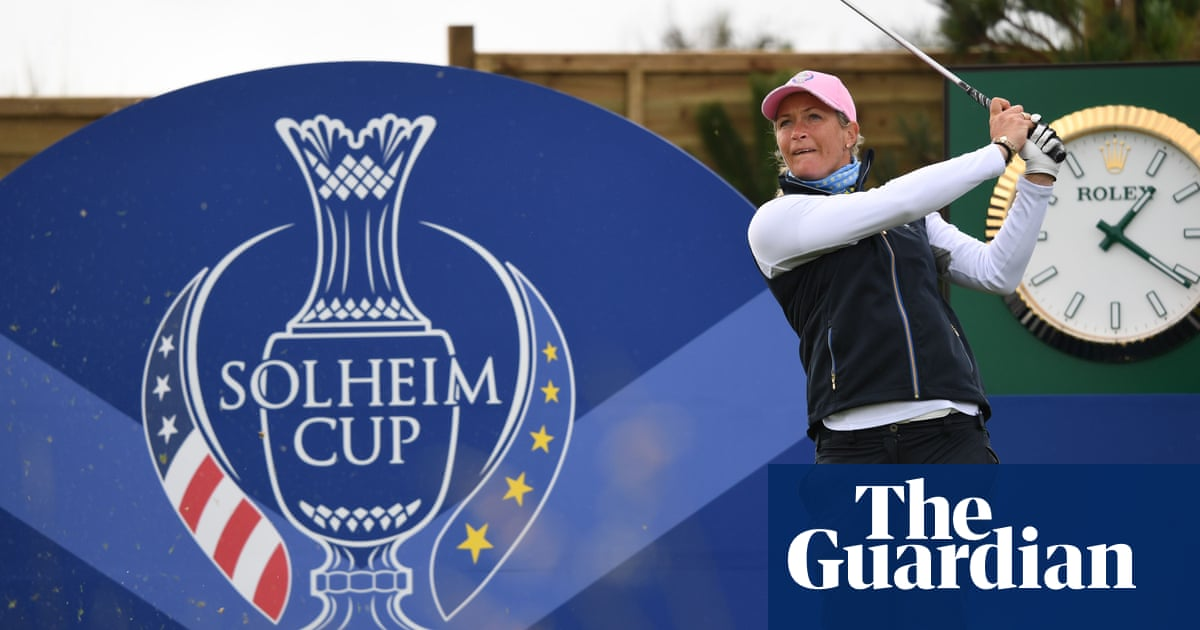 Suzann Pettersen forced out of first Solheim Cup morning by illness