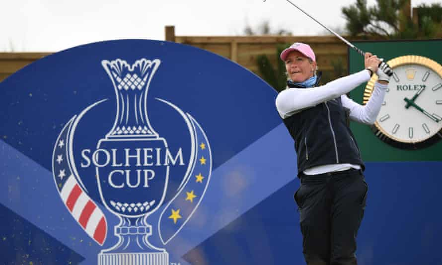 Europe's Suzann Pettersen practised on Thursday but illness has ruled her out of the first morning's foursomes.