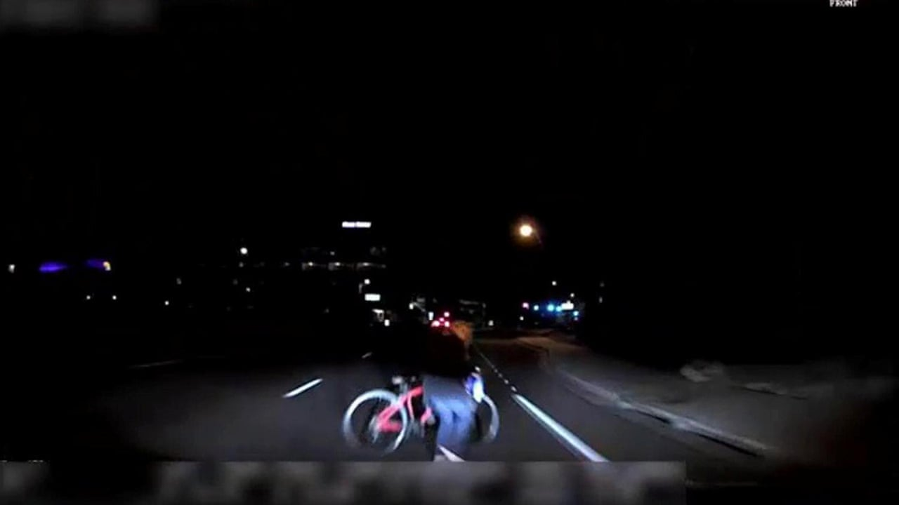 Uber dashcam footage shows lead up to fatal self driving crash uber dashcam footage shows lead up to fatal self driving crash video technology the guardian solutioingenieria Choice Image