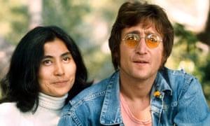 John Lennon and Yoko Ono in 1971.