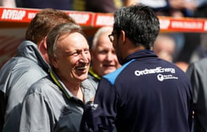 Neil Warnock revitalised Cardiff City in the second half of the season