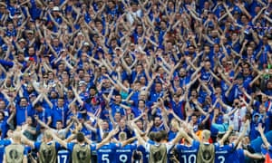 Despite the euphoria over Iceland's defeat of Austria, the co-coach Lars Lagerback says: 'There's less risk for us to get the sack if we lose against England than vice versa. Everything is connected to expectations.'