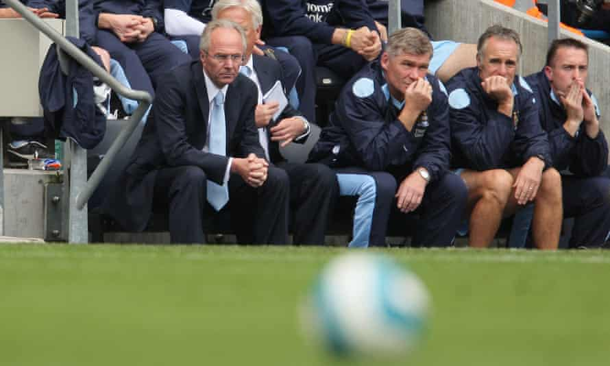 Sven-Göran Eriksson in 2007, during his stint at Manchester City. 'I was there just a little too early,' he says.