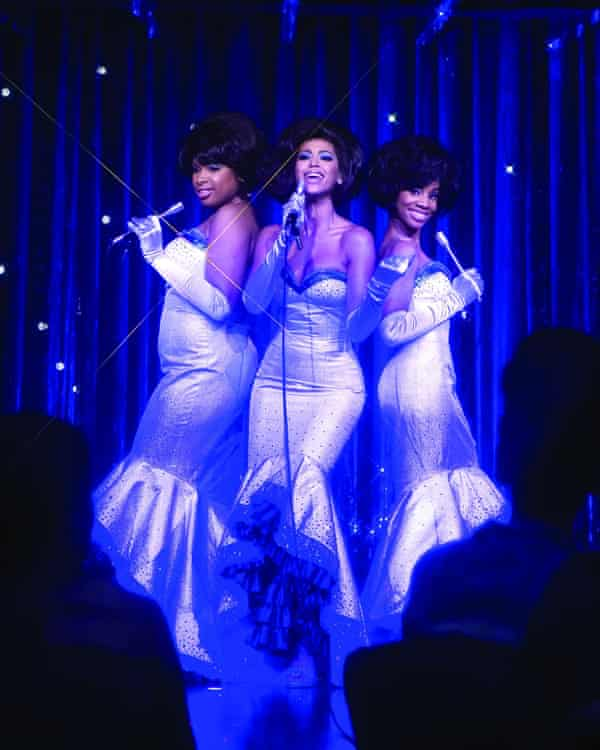 In Dreamgirls – with Beyoncé and Anika Noni Rose – a role that won her an Oscar, Bafta and Golden Globe