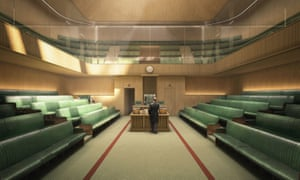 The first images of a planned £1.5 billion Westminster decant have been revealed.
