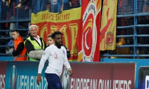 Danny Rose was racially abused while playing for England in Montenegro.