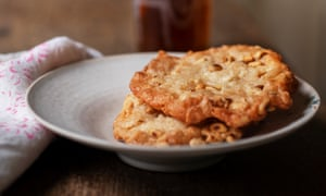 Takes the biscuit: pine kernel and lemon cookies.