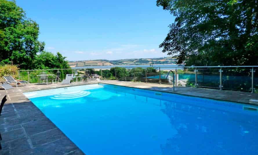 Pool at The Grove, Llansteffan, Pembrokeshire