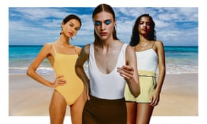 Amphibious … Topshop, Zara and Tooshie swimwear