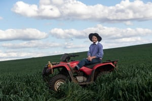 Farmer Coral Jerry on her property Marlborough outside Coonabarabran.