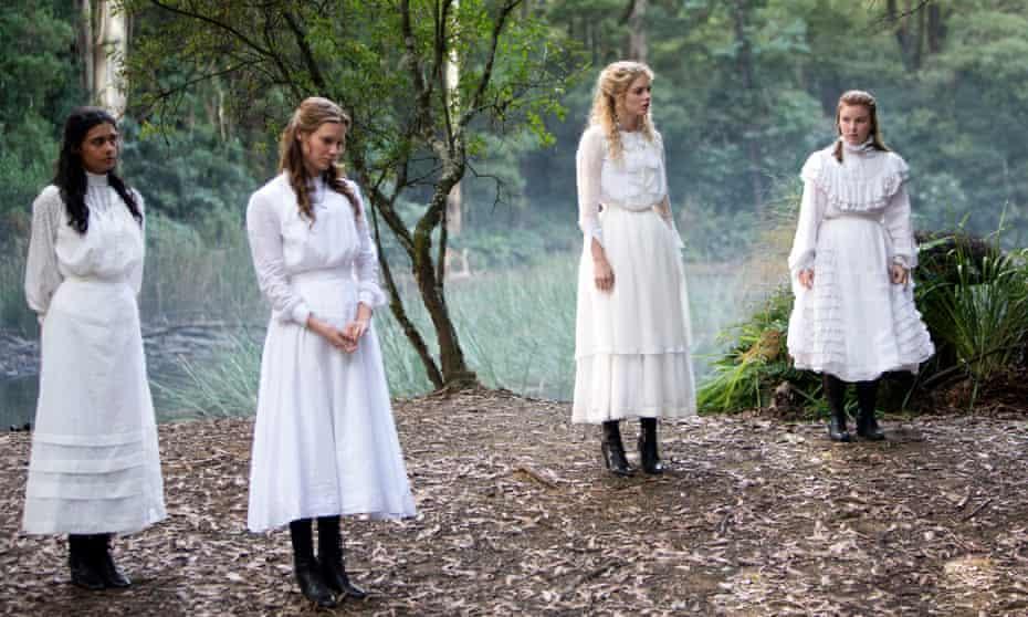 Picnic at Hanging Rock … Marion Quade, Miranda Reid, Irma Leopold and Edith Horton